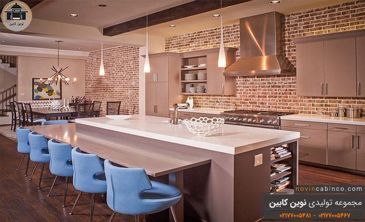 عکس کابینت آشپزخانه جدید و فوق مدرن