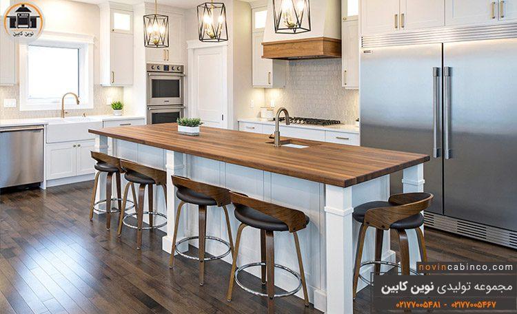 عکس کابینت آشپزخانه مدرن جدید