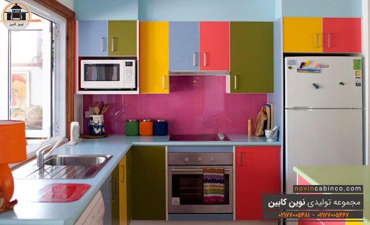 راهنمای انتخاب رنگ کابینت اشپزخانه
