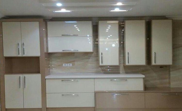 نمونه کار کابینت های گلاس