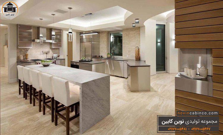 دکوراسیون آشپزخانه شیک جدید