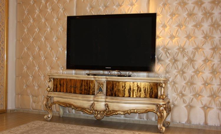 میز تلوزیون کلاسیک سلطنتی جدید