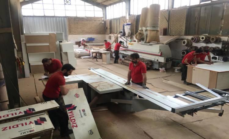 کارخانه تولیدی کابینت نوین کابین