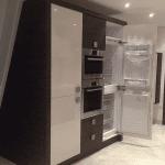 کابینت و اکسسوری سوپر یخچالی سفید شکلاتی