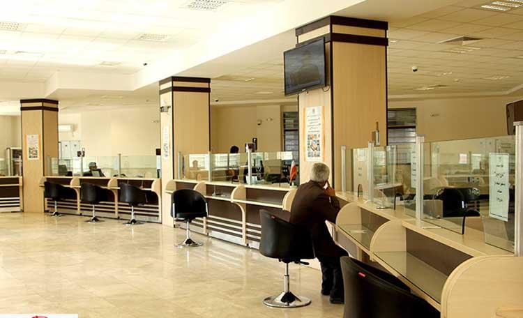 اجرای دکوراسیون بانک