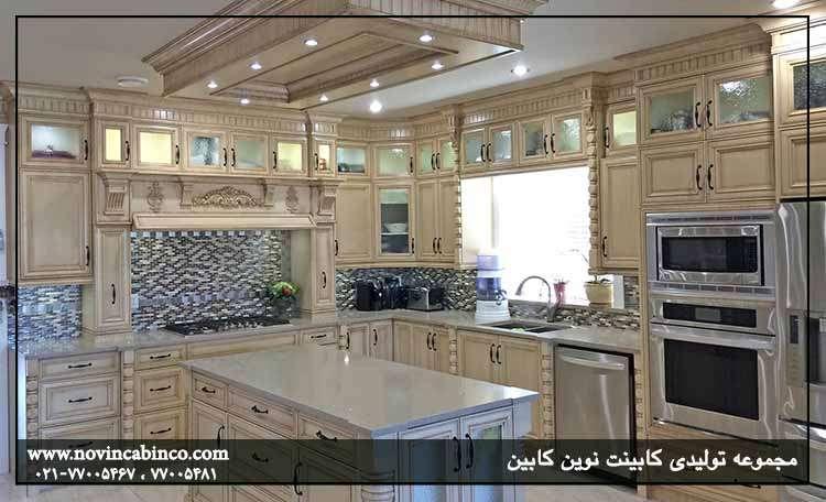 کابینت آشپزخانه کلاسیک در اصفهان