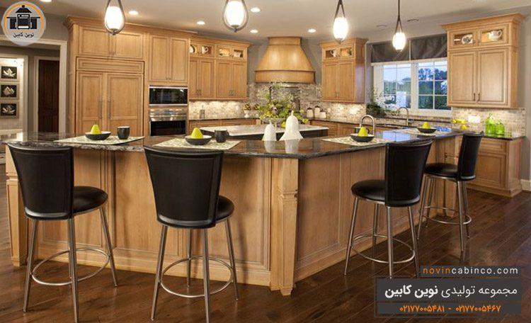 جدیدترین مدل کابینت آشپزخانه بزرگ