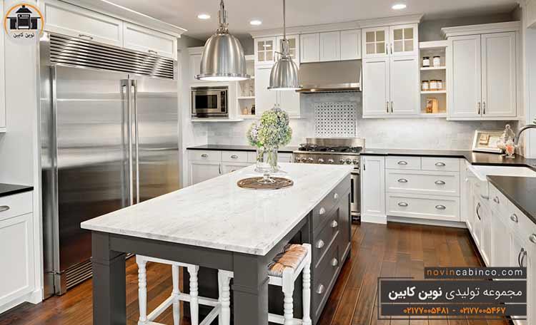 جدیدترین مدل کابینت آشپزخانه بزرگ ۲۰۲۱