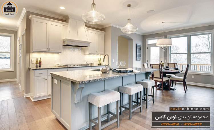 طراحی جدیدترین مدل کابینت آشپزخانه