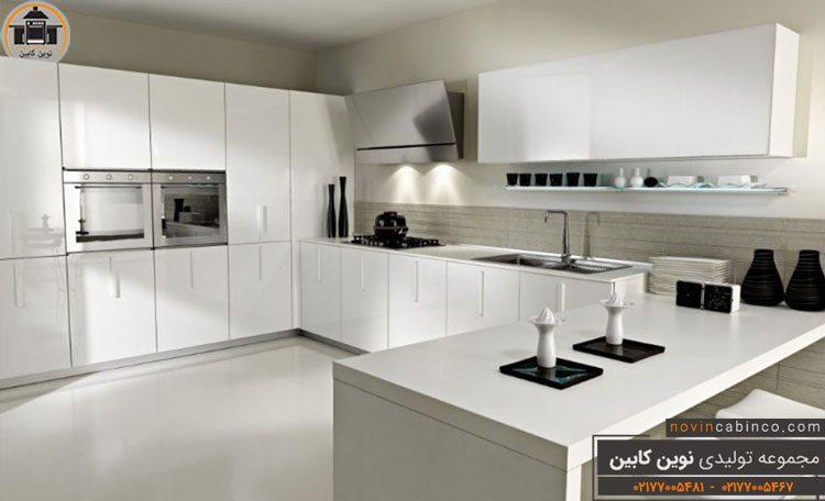 جدیدترین مدل کابینت آشپزخانه سفید ۲۰۲۰