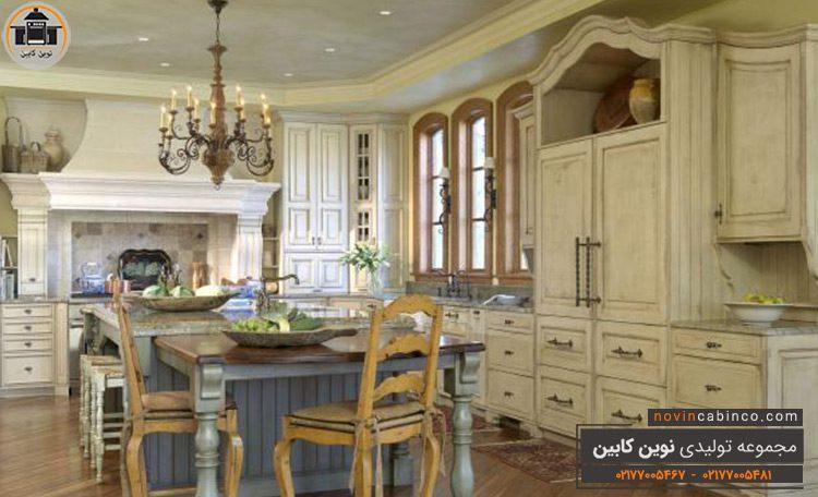 جدیدترین مدل کابینت آشپزخانه رومی