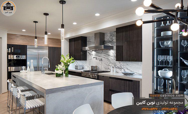 جدیدترین مدل کابینت آشپزخانه مناسب