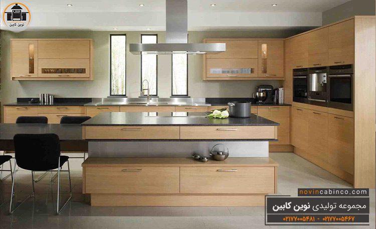 جدیدترین مدل کابینت آشپزخانه ام دی اف