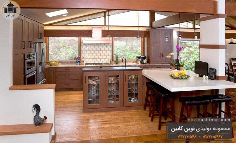 جدیدترین مدل کابینت آشپزخانه ملامینه