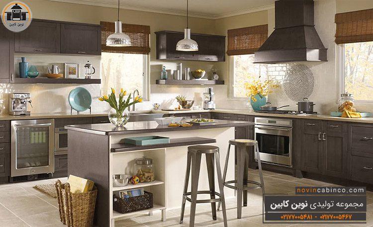 جدیدترین مدل کابینت آشپزخانه شیک