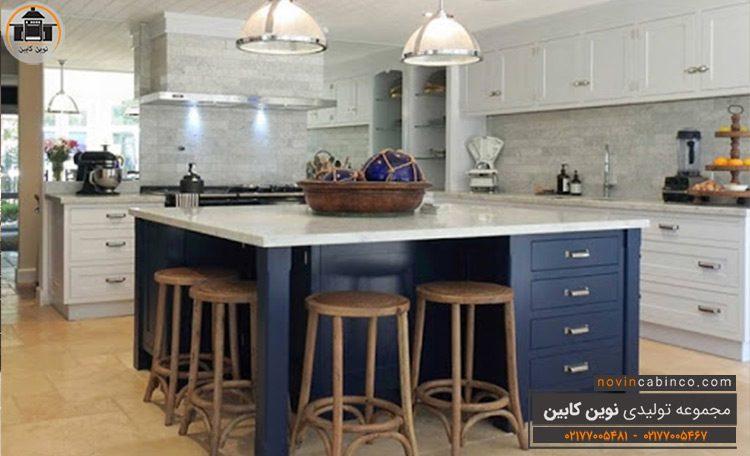 جدیدترین مدل کابینت آشپزخانه طرح جدید