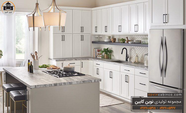 جدیدترین مدل کابینت آشپزخانه سفید