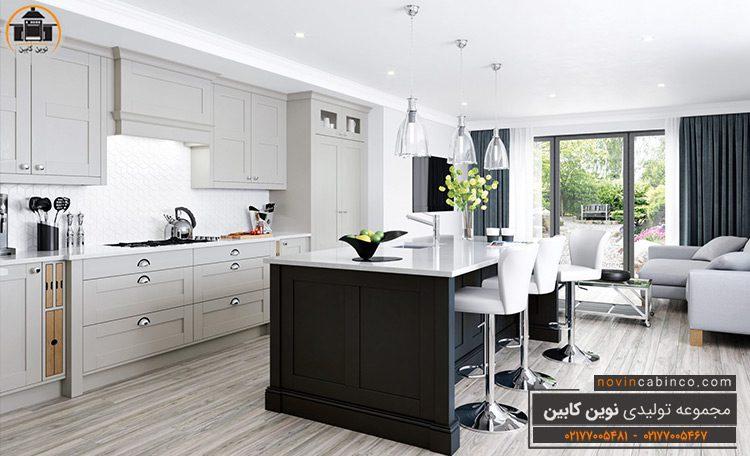 جدیدترین مدل کابینت آشپزخانه جزیره