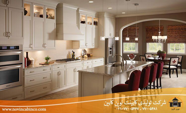 مزایا و معایب کابینت آشپزخانه نئوکلاسیک