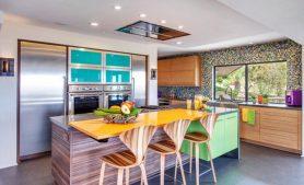 اصول انتخاب بهترین رنگ کابینت آشپزخانه