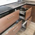 کابینت آشپزخانه بژ