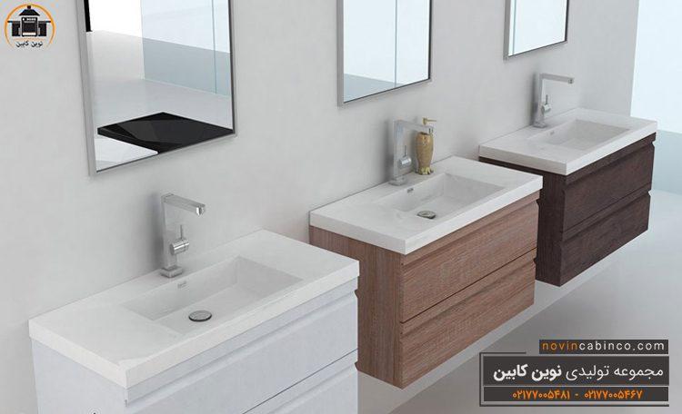 کابینت پی وی سی دستشویی